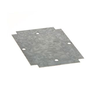 Mounting Plate Galvanised 120x80