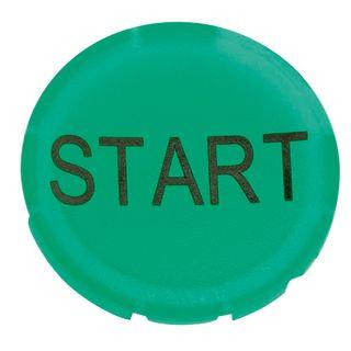 Button Lense for Illum Push button Start Green
