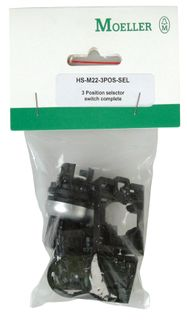 Pushbutton Hang Sell 3 Pos Selector + Adaptor 2No