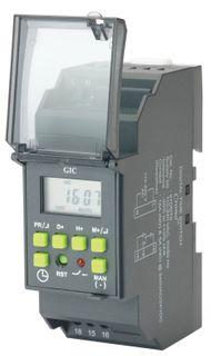 Din mount digital time clocks
