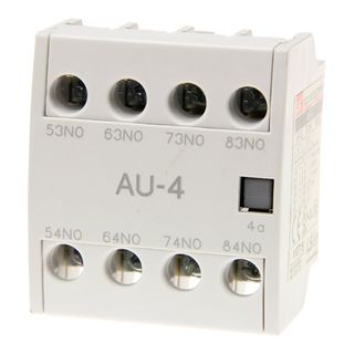Aux Contact 2x N/O 2 x N/C Top Mount for MC9-MC150