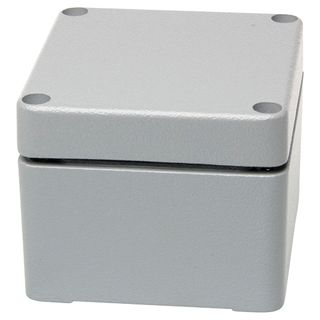 Terminal Box ABS with 6 Side Mnt - 2 Level Term