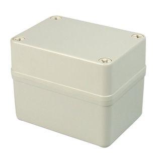 Enclosure Poly Grey  Body - Screw lid 100x100x100