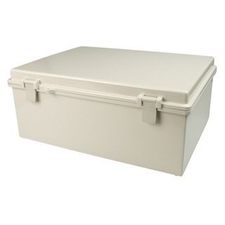 Enclosure ABS Grey Body Grey Hgd Lid 280x380x130
