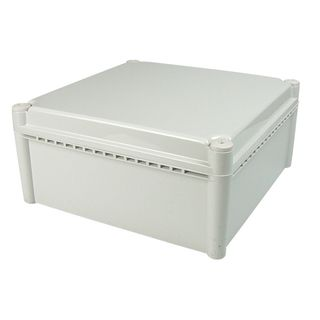 Enclosure Poly Grey  Body - Screw lid 200x200x160