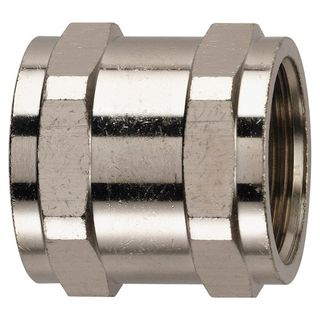 Conduit Couplers 20mm Nickel Plated Brass