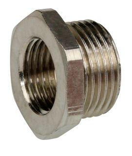 Reducer 20mm - 16mm Nickel plated brass