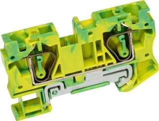 ST Terminal 1 Level Earth 6mm Twin 1 I n/ 2 out