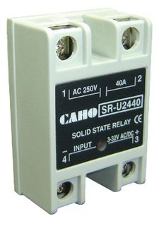 Solid State Relay 1 Phase 40A 24-380V 3-32V AC/DC