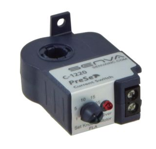 Current Sensing Relay 0.75-50A 1A at 30VAC/DC N/O