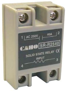 Solid State Timer 25A 25-250VAC