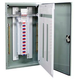 Distribution Board Grey 24 Pole 250A Main Switch