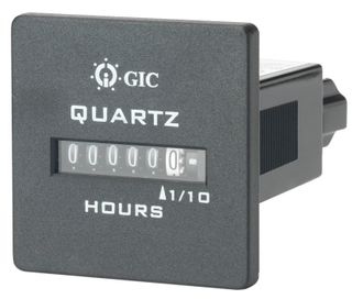 Hour Run Meter Square Face 90-264VAC