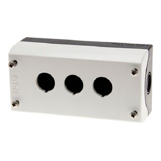 Enclosure for Pushbuttons 3 Hole