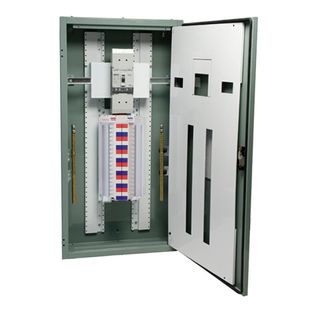 Distribution Board Grey 48 Pole 250A Main Switch