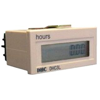 Hour Run Meter 110-240VAC 99,999.99Hrs 59Min