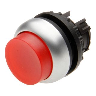 Pushbutton Illuminated Extend Spring Return Red