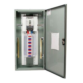 Distribution Board 96 Pole Grey 250A Main Switch