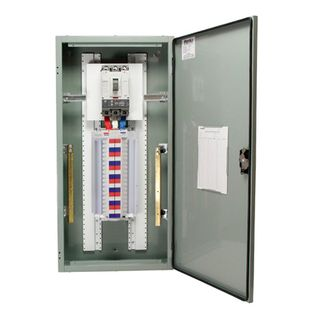 Distribution Board 24 Pole Grey 250A Main Switch