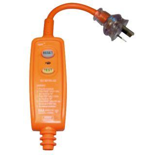Inline RCD Unit Compatible 3 Pin 10A Plug 30Ma