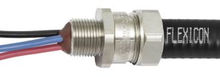 Gland Conduit Exd Steel 20mm 20mm Th IP69