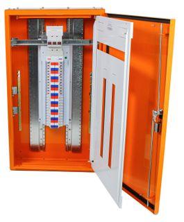 Distribution Board 72 Pole Orange 400A MSW IP56