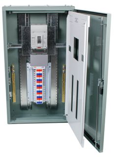 Distribution Board 24 Pole Grey 400A MSW IP56