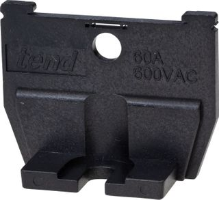 Terminal Block Cassette Type End Plate for TBC-200