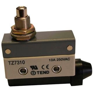Limit Switch 10A IP65 Long Button Plunger