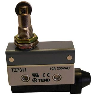 Limit Switch 10A IP65 Button Plunger with Roller