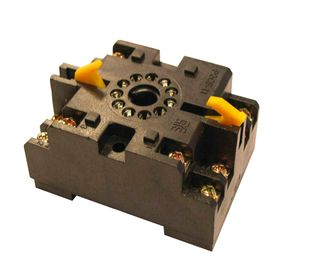 Timing Relay Base Round 11 Pin with Clips