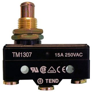 Micro Switch 15A Long Button Plunger