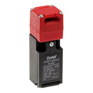 Safety Limit Switch IP65 1 N/C 1 N/O Vertical Key