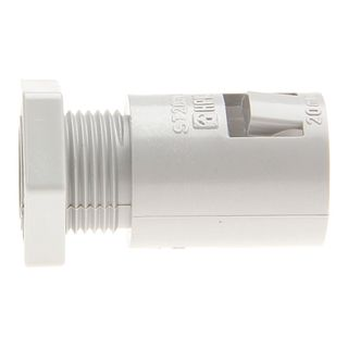 Conduit Fitting PVC 25mm Clip Lock with L/Nut
