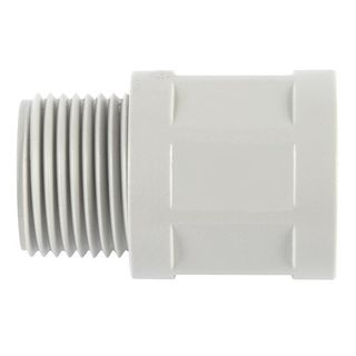 Conduit Fitting PVC 25mm Glue Lock Less Locknut