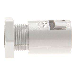Conduit Fitting PVC 20mm Clip Lock with L/Nut