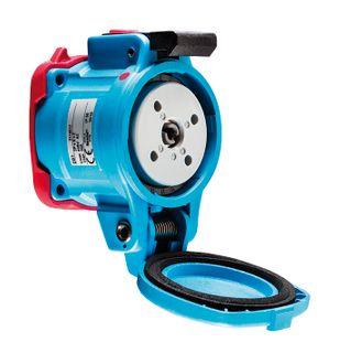 Socket Poly DSN6 63A 380-440V 3P+E Outlet