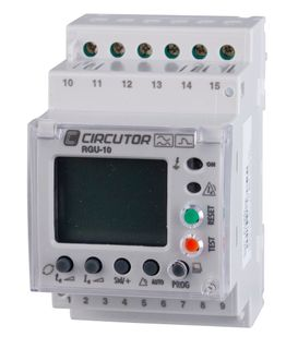 Earth Leakage Relay Rgu-10C 3 Module with Display