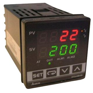 Temp Controller 48x48mm Dig Multi In Rel Output