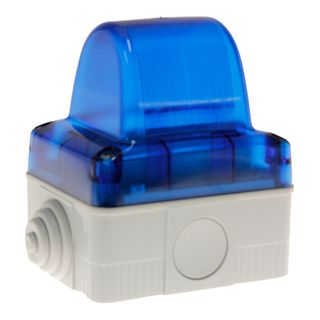 Indicator Light 240VAC Blue Requires E14 Lamp