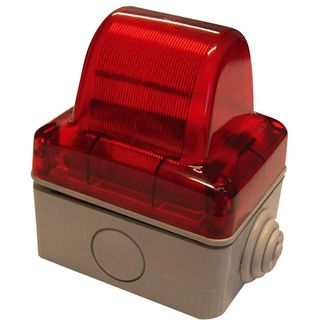 Indicator Light 240VAC Red Requires E14 Lamp