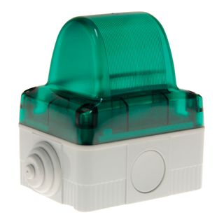Indicator Light 240VAC Green Requires E14 Lamp