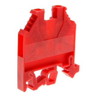 Terminal Din Mount 4mm Red 32A