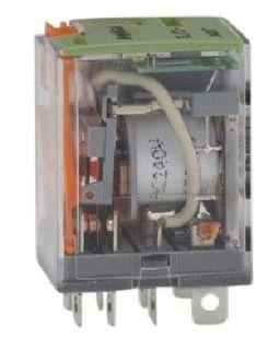 Relay Square Pin 2 Pole 10A 24VDC 8 Pin