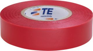 PVC Tape Roll Packet Of 10 Red