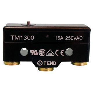 Micro Switch 15A Pin Head Plunger