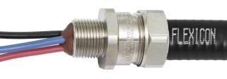 Gland Conduit Exd Steel 16mm 20mm Th IP66/67/68/69