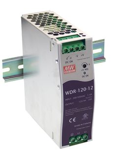 Power Supply 180-550VAC In 12VDC  10A Out 120 W