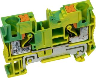 PT Terminal Single Level Earth 6mm 1 In /1 out