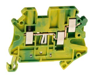 UT Terminal Single Level Earth 6mmpe 1 In/1 out -A